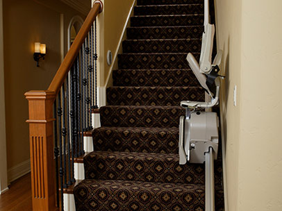 3 SRE 300 Lan Indoor Straight Stairlift - Central Massachusetts Stairlifts