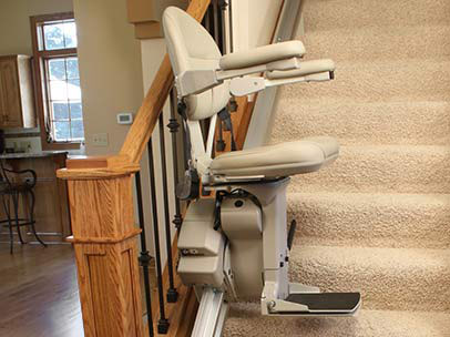 Brunos Top Of The Line Indoor Straight Stairlift 3 - Central Massachusetts Stairlifts