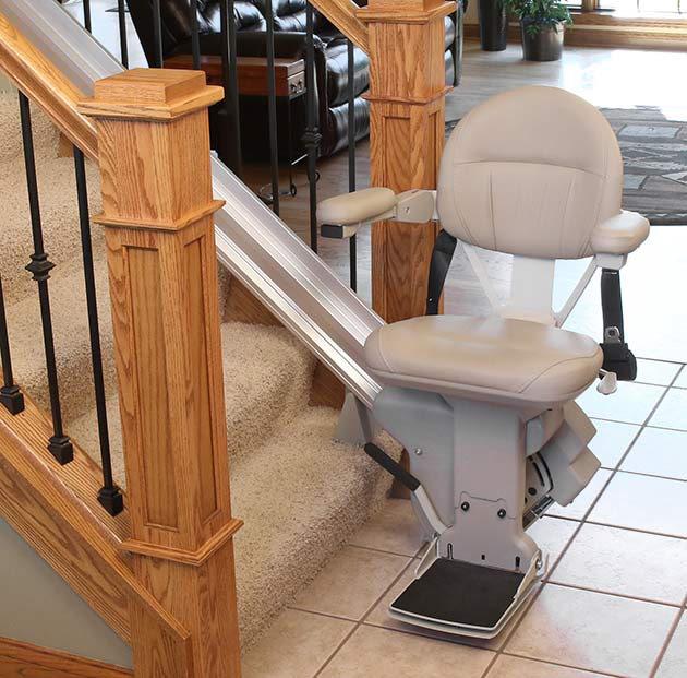Elite Indoor Straight - Central Massachusetts Stairlifts