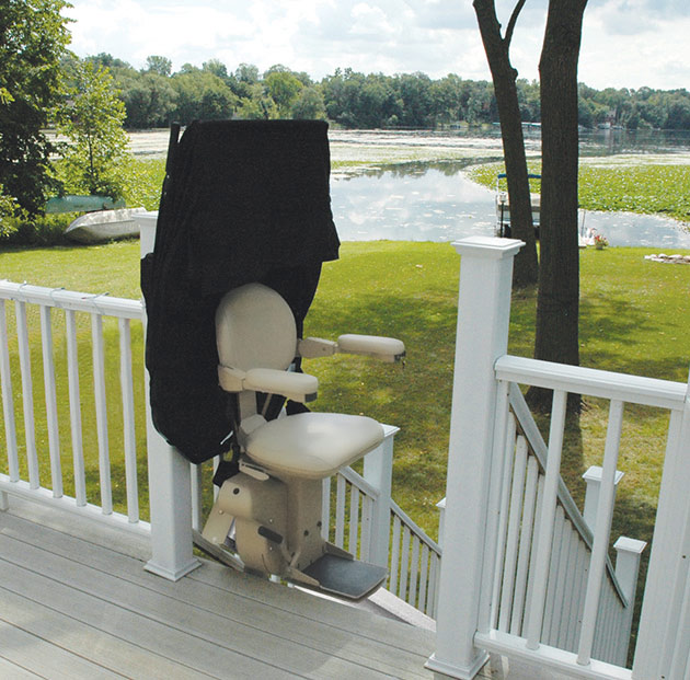 Elite Outdoor Straight - Central Massachusetts Stairlifts