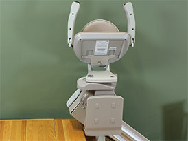 Power Folding Footrest - Central Massachusetts Stairlifts