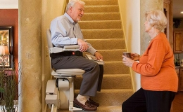 Elite Indoor Straight Stairlift - Central Massachusetts Stairlifts