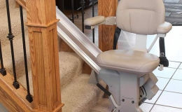 Elite Indoor Straight - Central Massachusetts Stairlifts