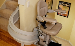 Thumb Stairlift - Central Massachusetts Stairlifts